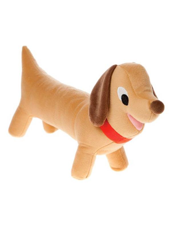 Diggedy Dawg Dog Shaped Cushion