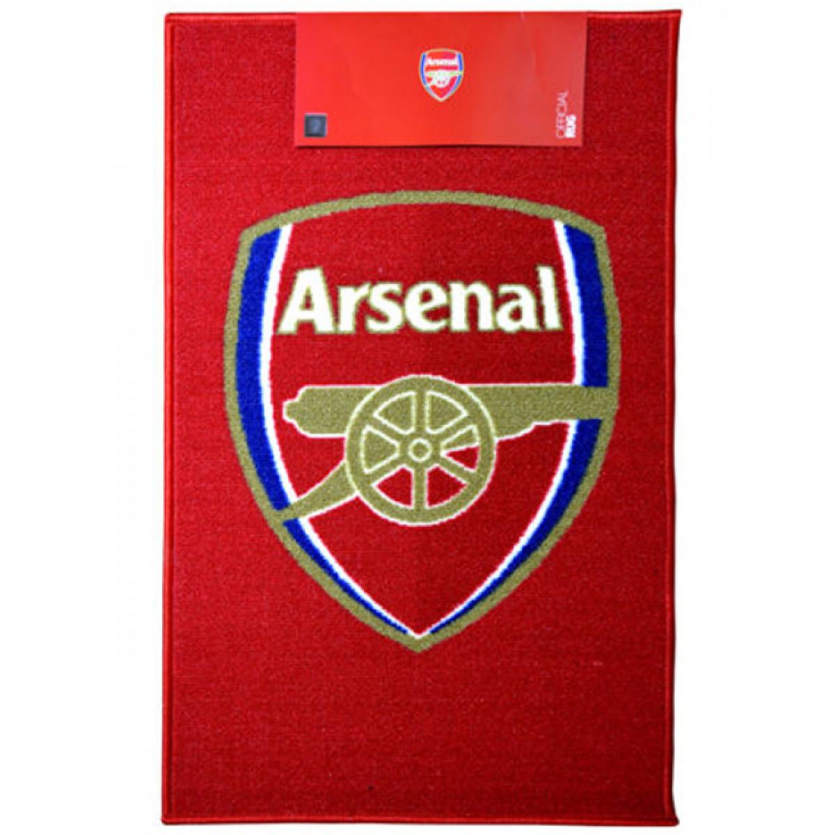 Arsenal Fc Crest Floor Rug