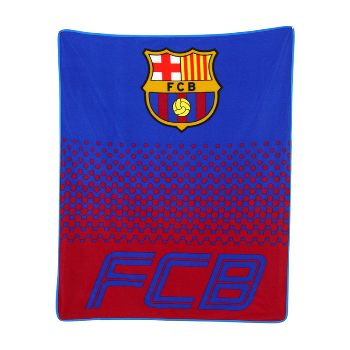 FC Barcelona Fade Fleece Blanket