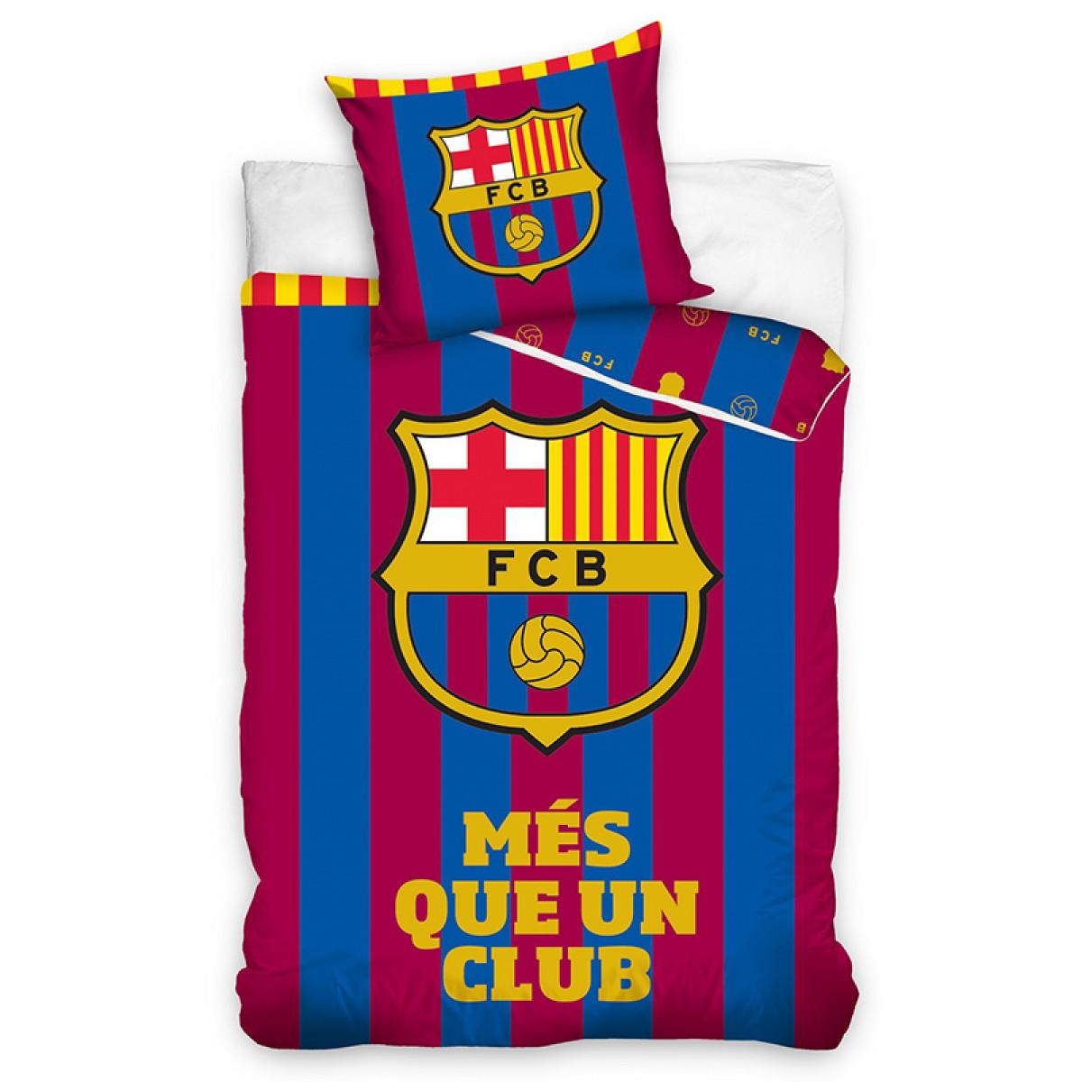 Fc Barcelona M 233 S Que Un Club Single Duvet Cover Set Bedding