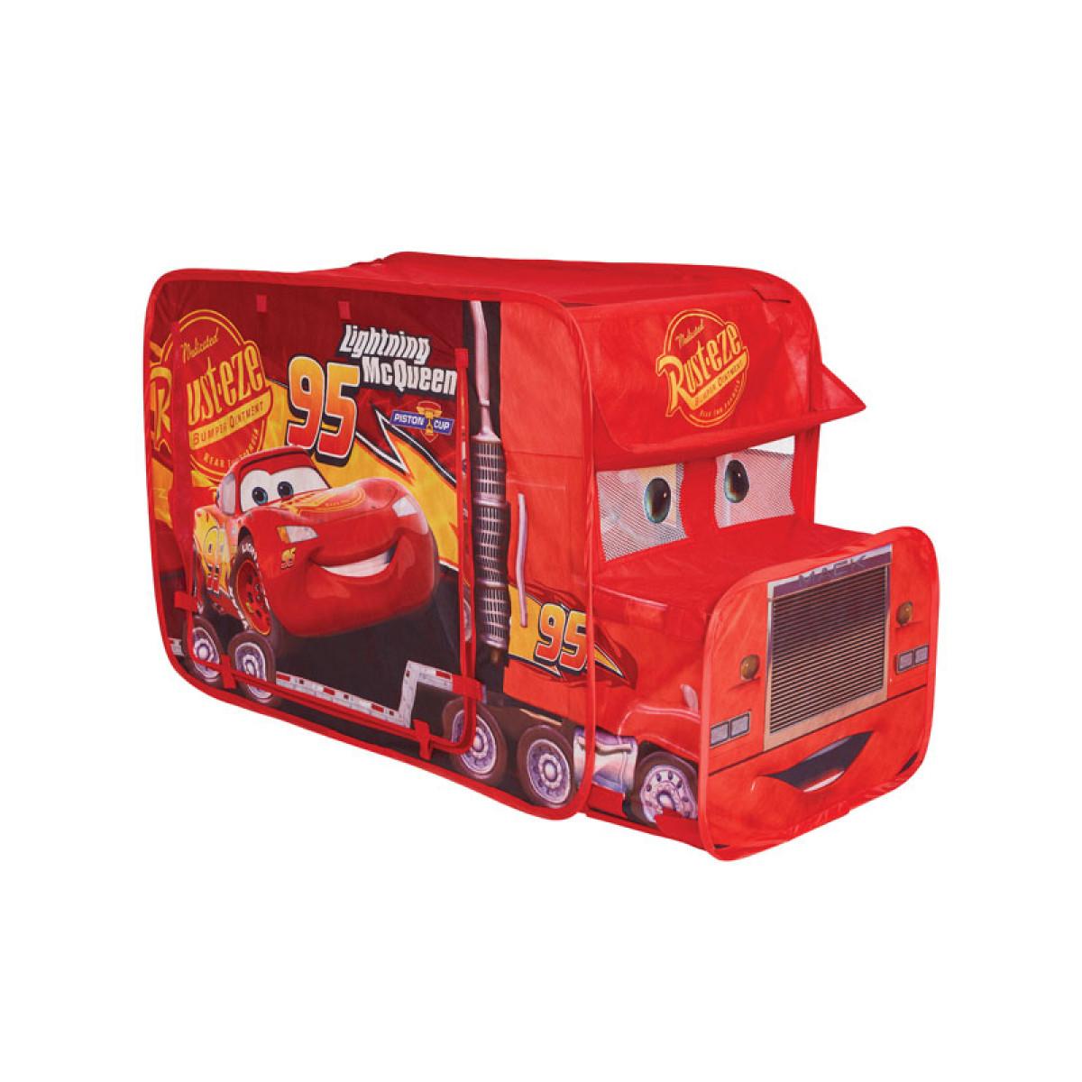 Disney Cars Pop Up Mack Truck Tourin Trucker Play Tent