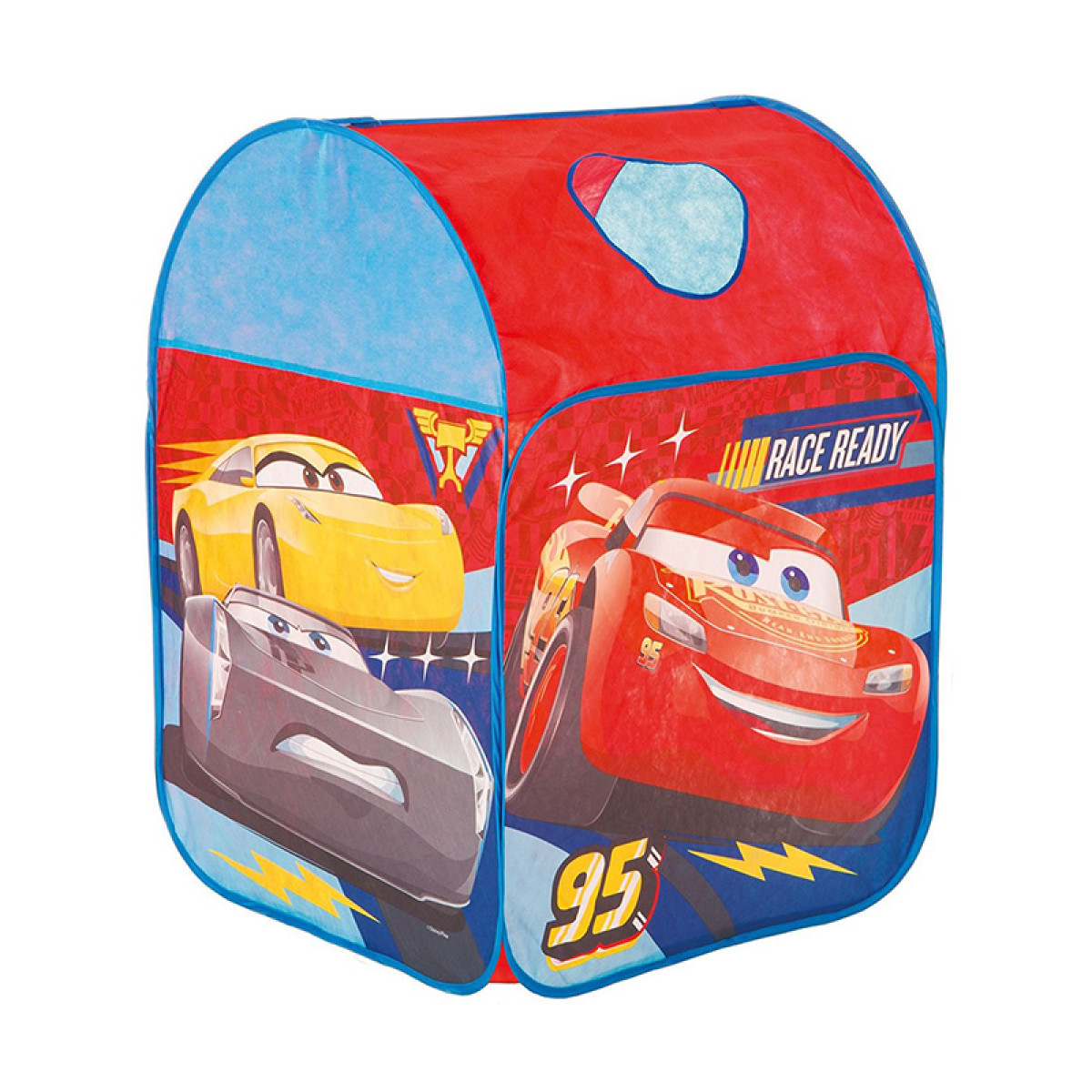 disney cars race ready pop up play tent wendy house. Black Bedroom Furniture Sets. Home Design Ideas