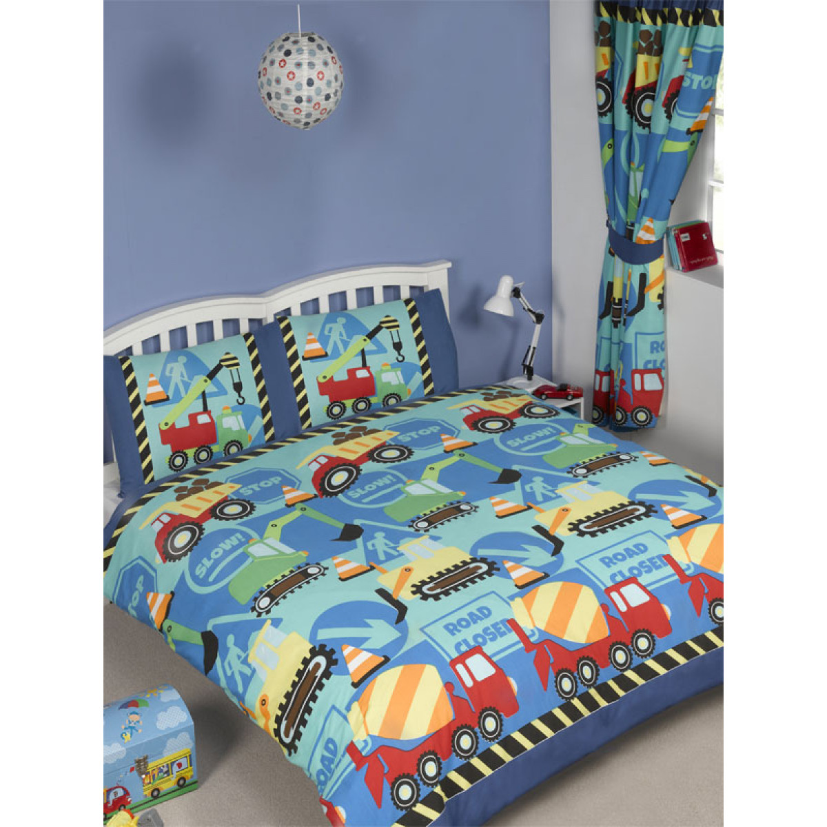 Construction Double Duvet Bed Set Price Right Home