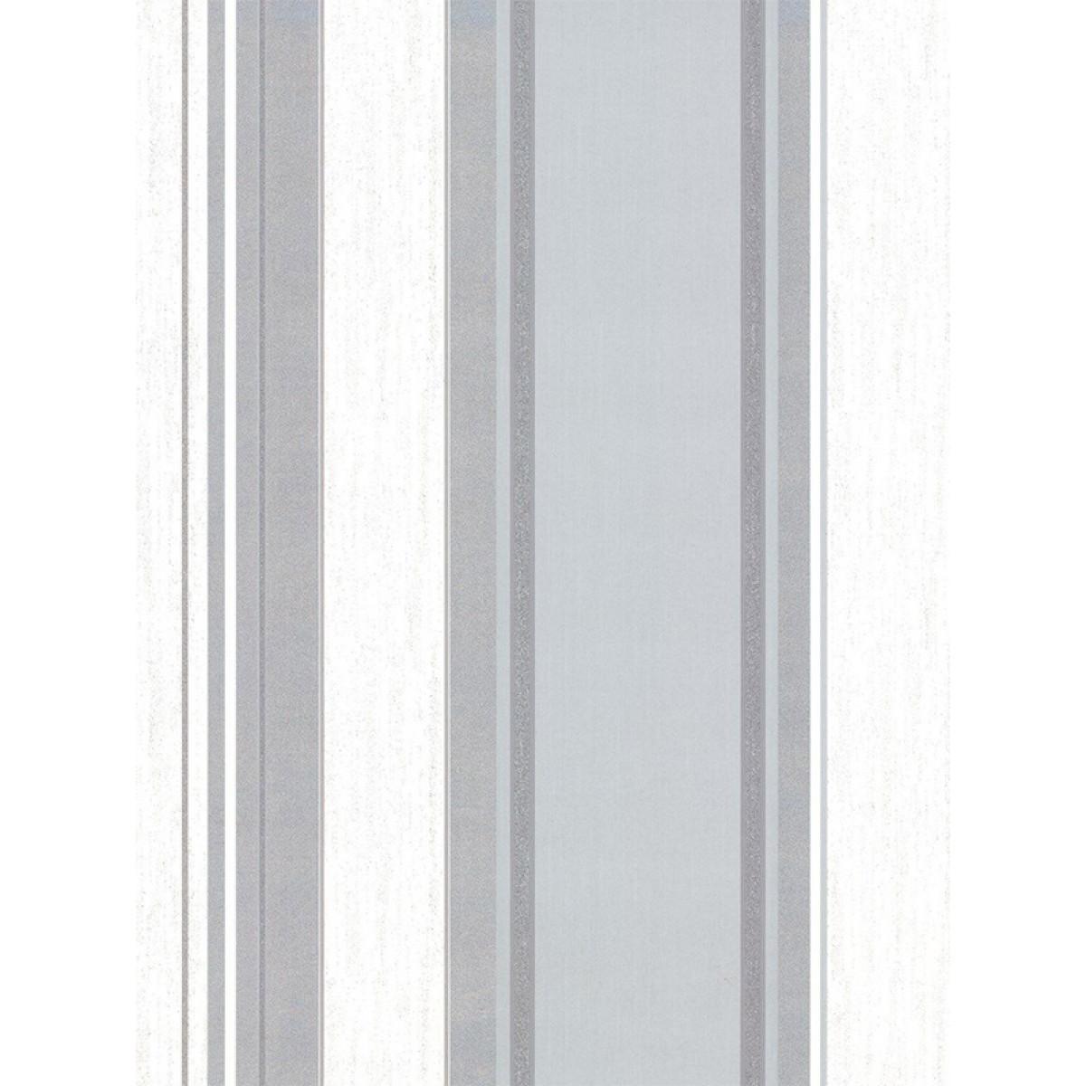 Synergy Stripe Wallpaper Dove Grey Vymura M0853