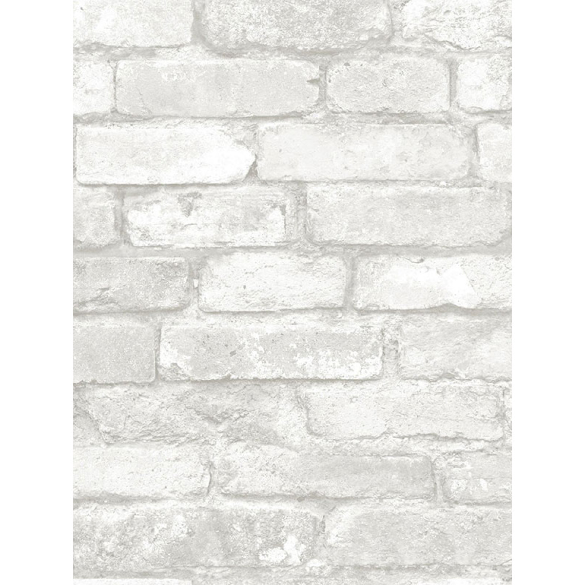 Nuwallpaper Grey And White Brick Peel And Stick Wallpaper