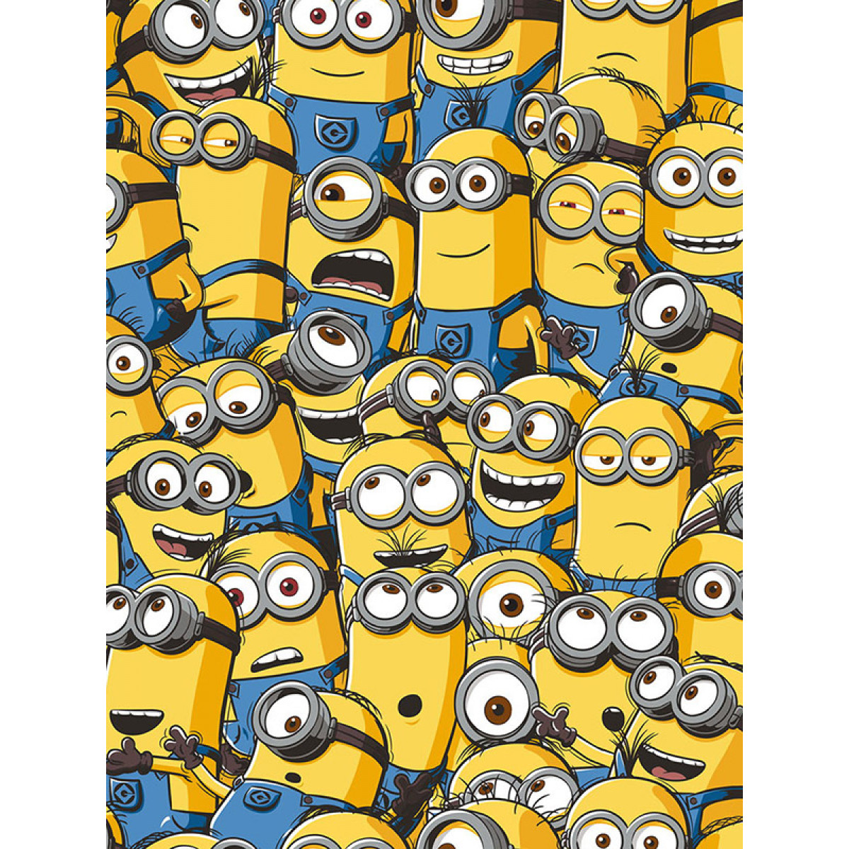 Despicable Me Sea Of Minions Wallpaper Bedroom Bedding