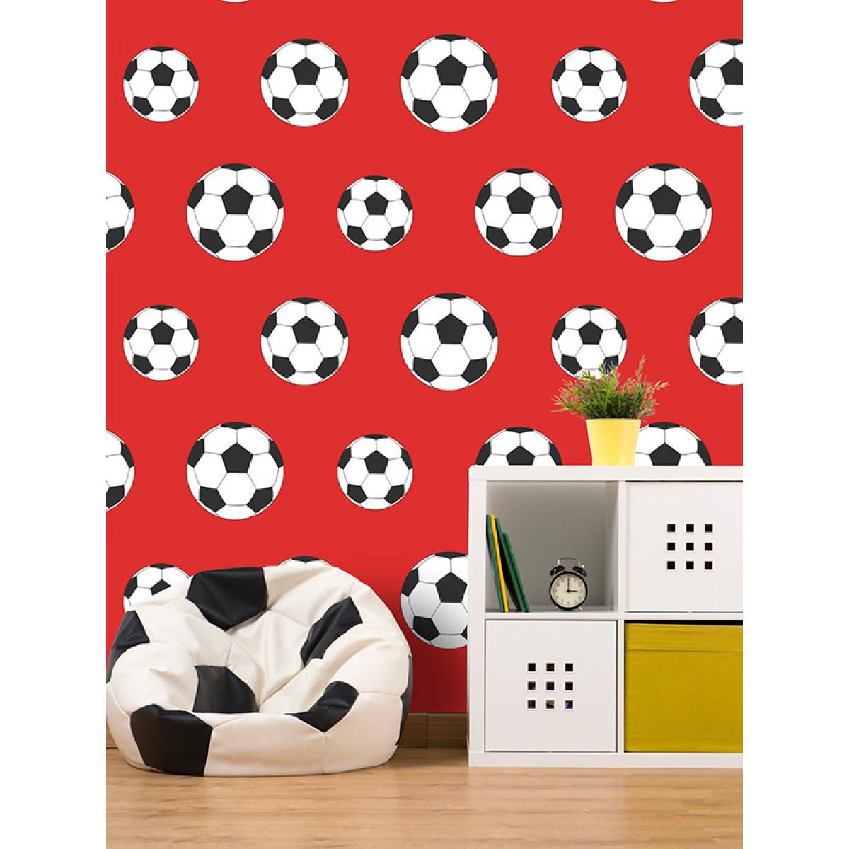 Arsenal Bedroom Wallpaper Red