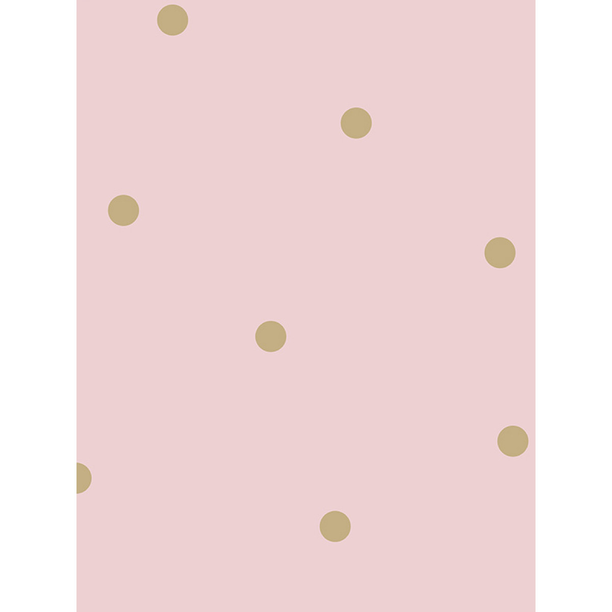 Dotty Wallpaper Pink Gold Holden 12604