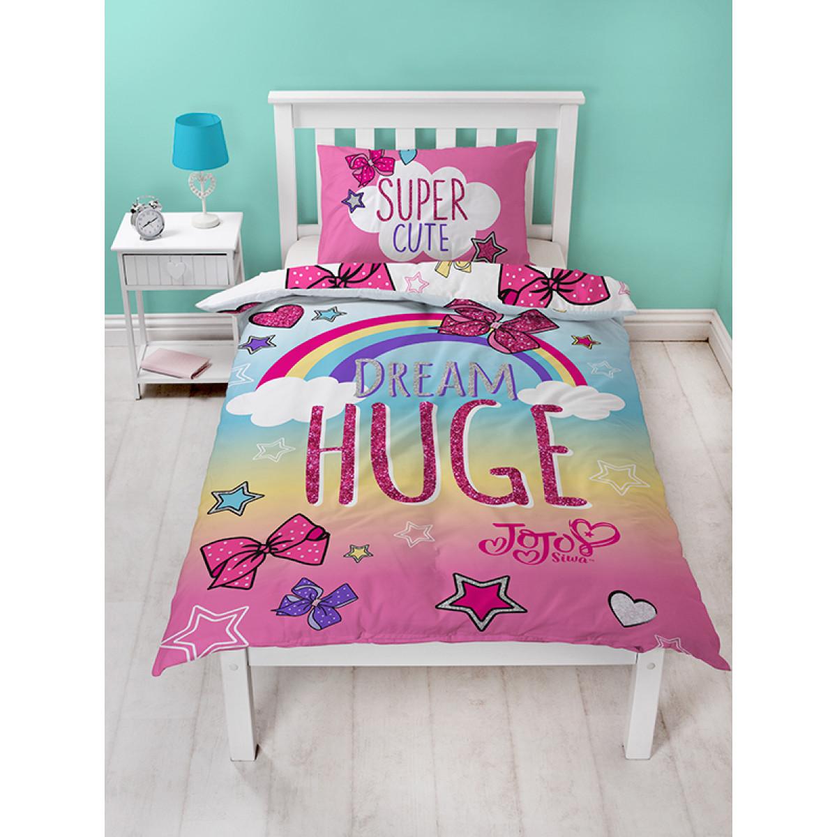 Jojo Siwa Bedding Jojo Bows Single Duvet Cover