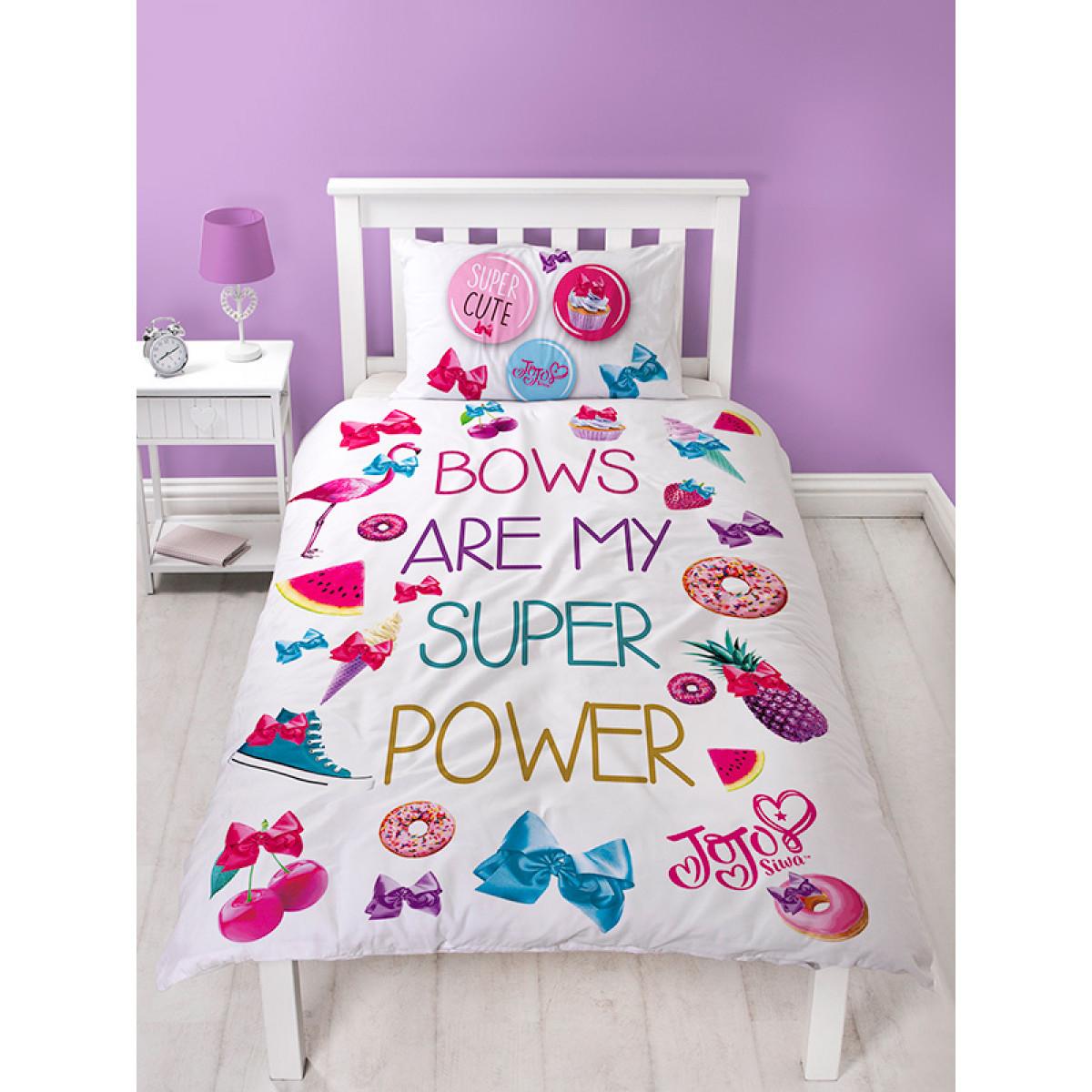 Jojo Siwa Super Single Duvet Cover And Pillowcase Set