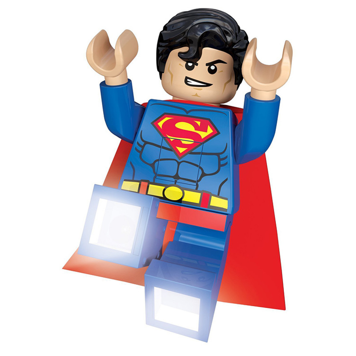 Lego Dc Superheroes Superman Torch Night Light Bedroom
