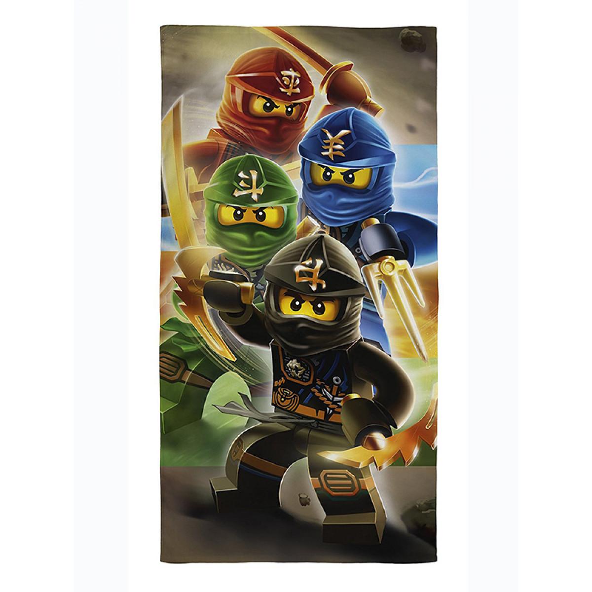 Lego Ninjago Quadrant Towel | Cotton | Beach
