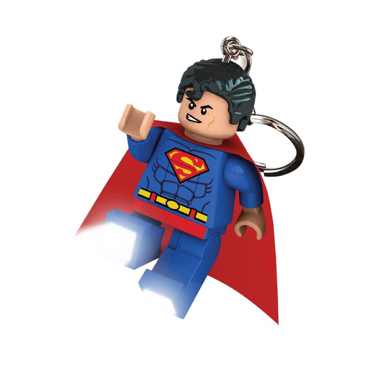 Superman Wall Murals Lego Dc Superhero Superman Keylight Keyring