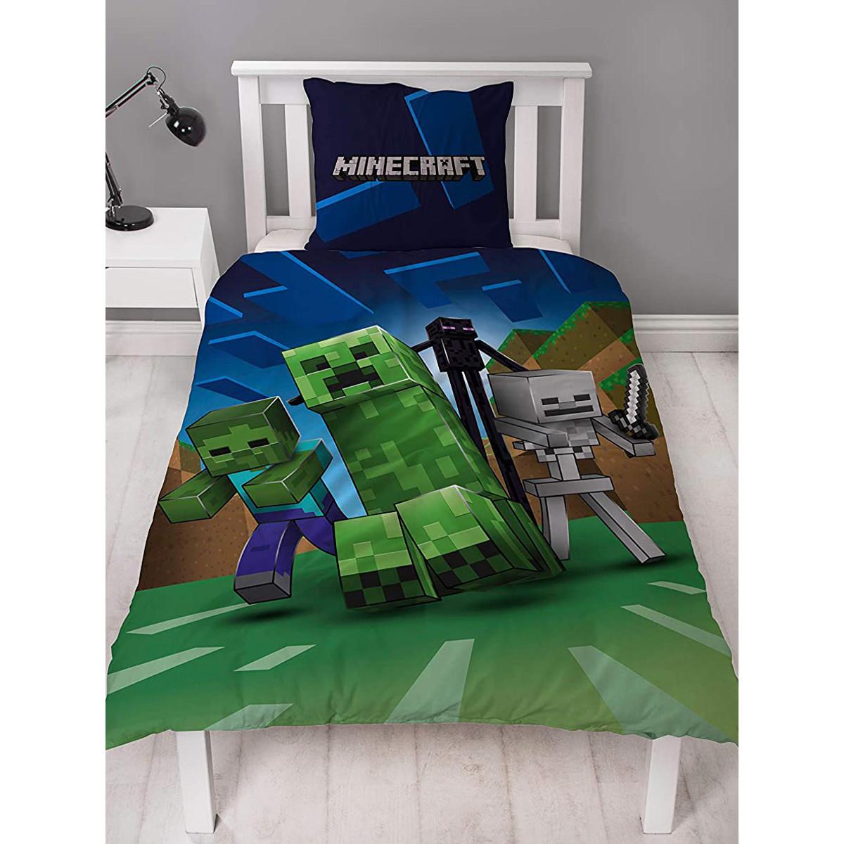 Minecraft® Pillow Cases (Standard