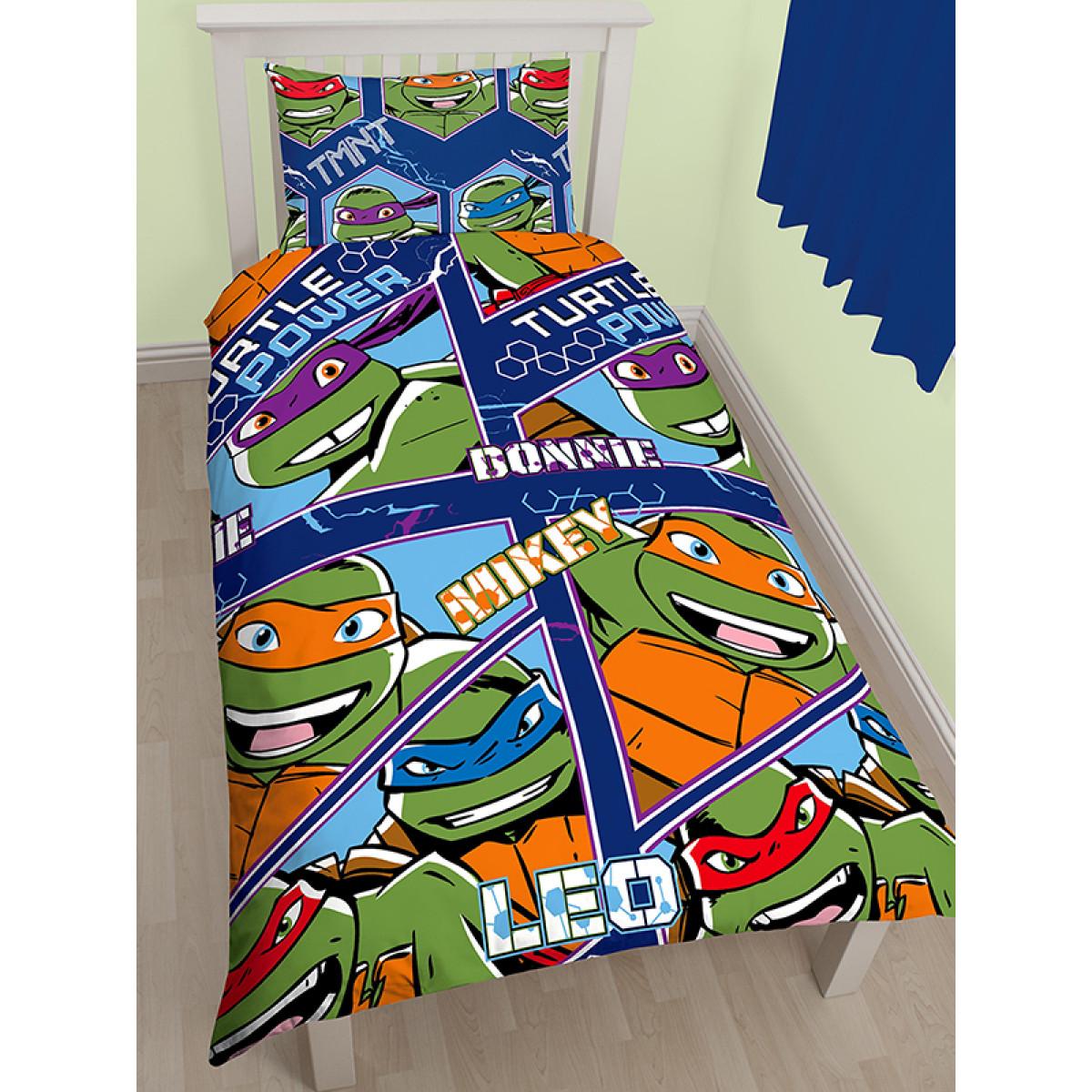 Teenage Mutant Ninja Turtles Dimension Single Duvet Cover Set