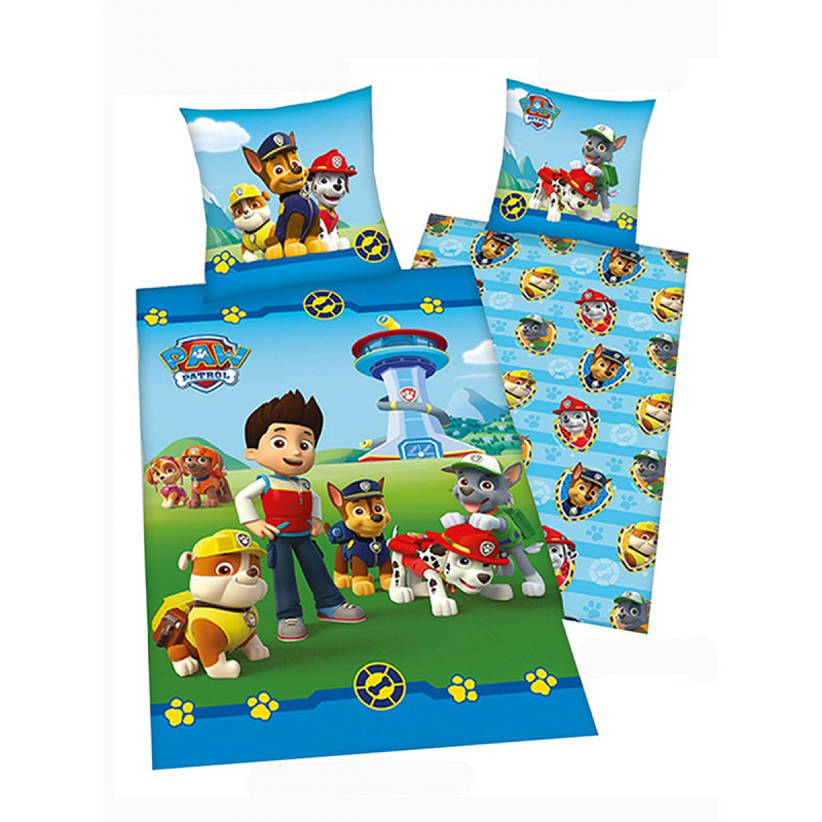 Paw Patrol Bedroom Curtains, Bedding and Kids Wallpaper