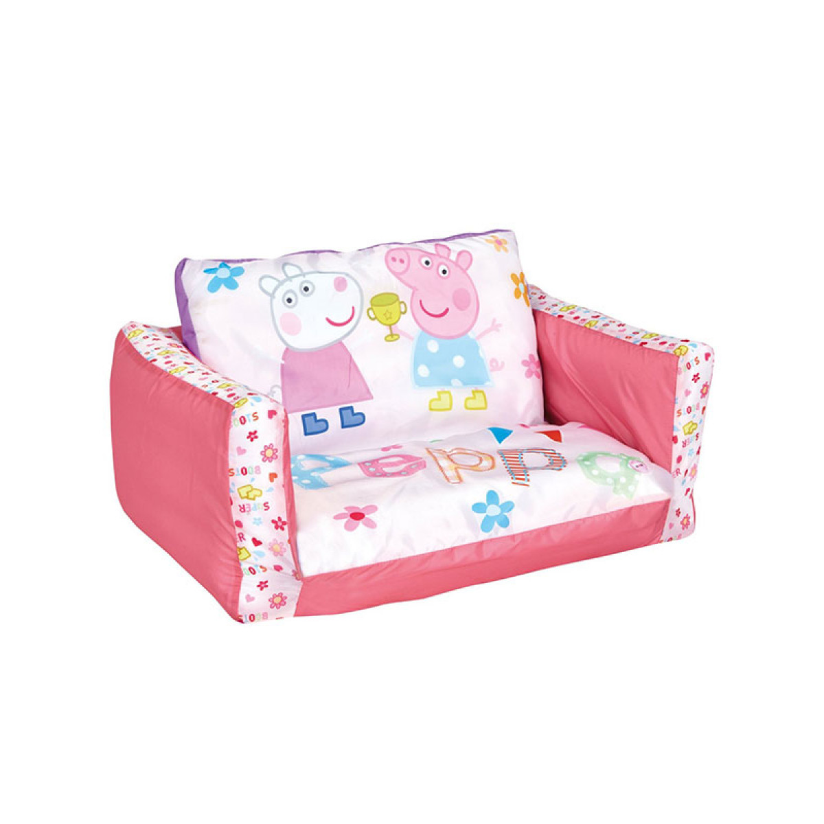 Peppa Pig Flip Out Sofa Bedroom Girls Lounger Bed
