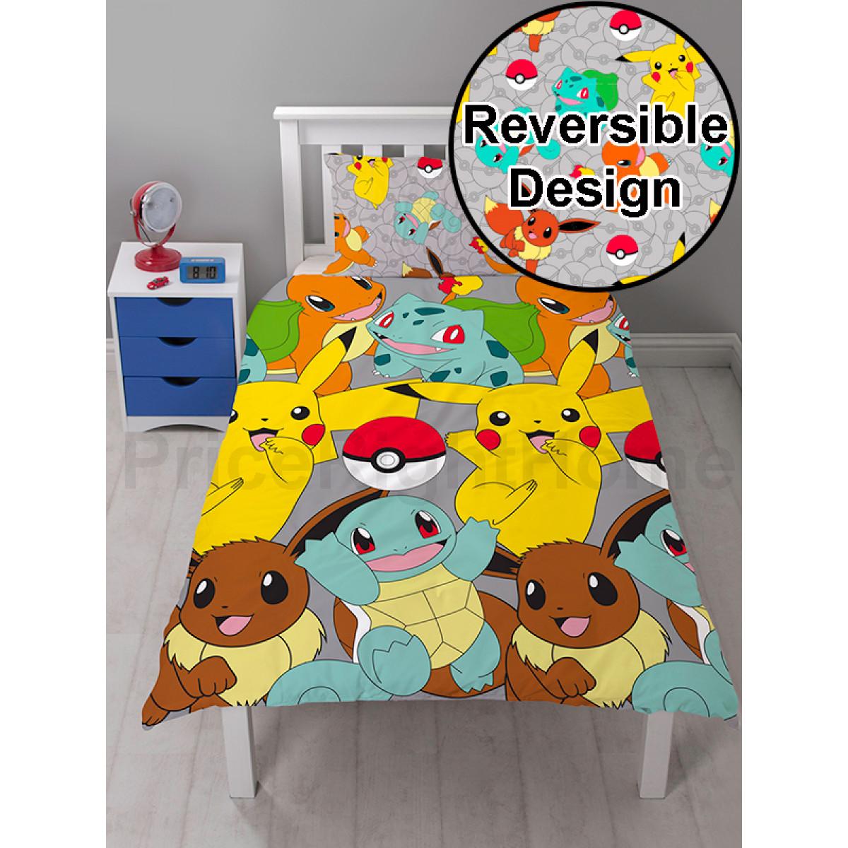 Pok 233 Mon Catch Single Duvet Cover Bedroom Bedding