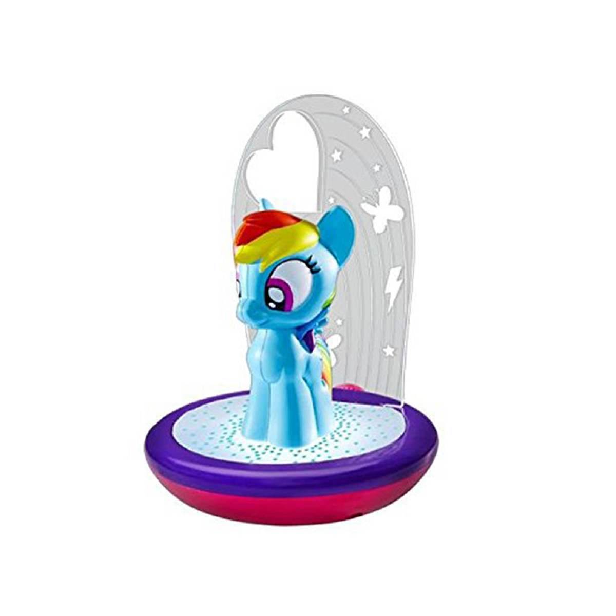 My Little Pony Rainbow Dash 3 In 1 Magic Go Glow Night