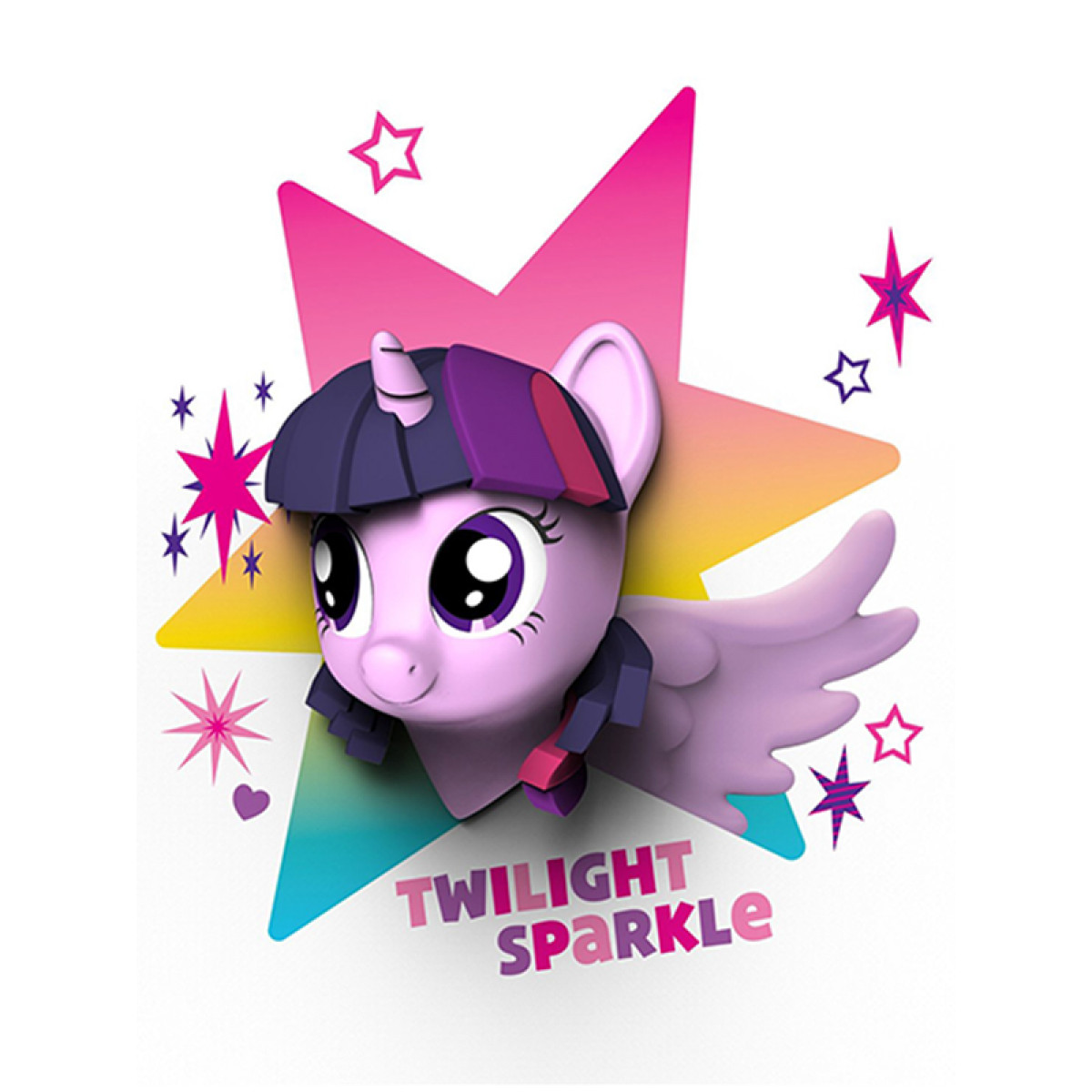 Disney Wall Stickers For Kids Bedrooms My Little Pony 3d Wall Light Twilight Sparkle