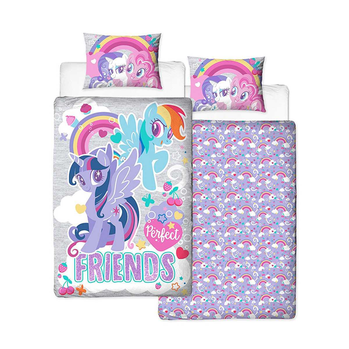 Copripiumino My Little Pony.My Little Pony Crush Single Duvet Cover Set Panel Design Bedroom