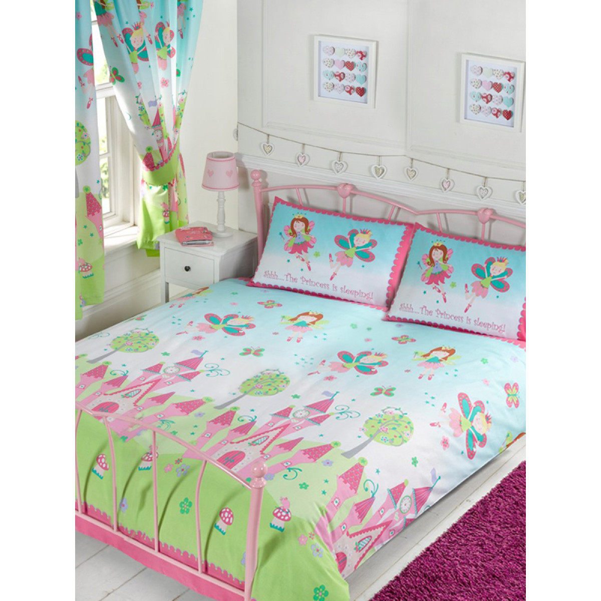 Princess Is Sleeping Double Duvet Cover And Pillowcase Set
