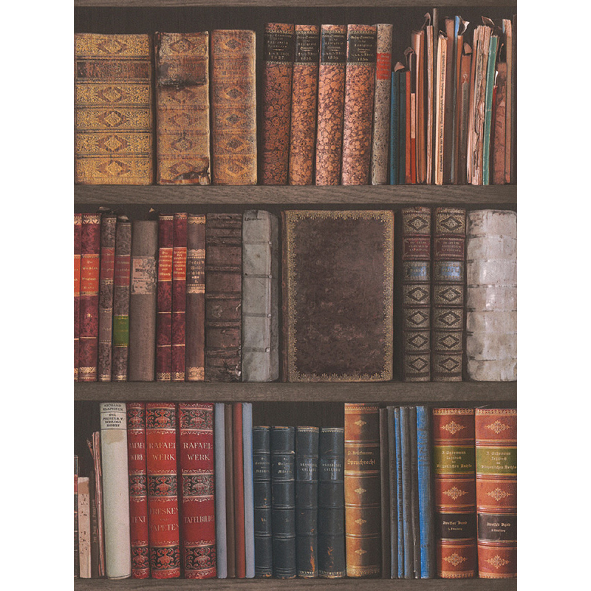 Rasch Library Books Wallpaper 934809 Feature Bedroom