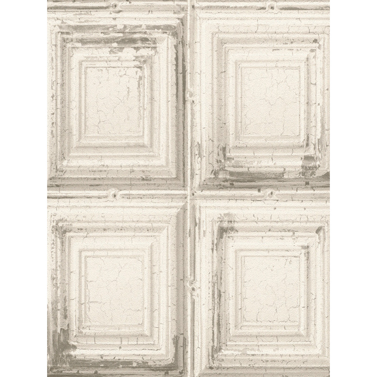 Rasch distressed wood panels wallpaper white 932614 for Wooden wallpaper price