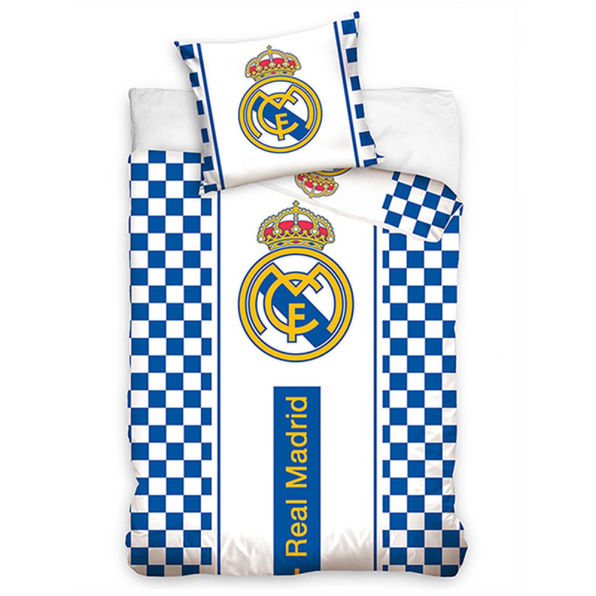 Real Madrid CF Pulse Doppel Bettbezug und Kissenbezug Set