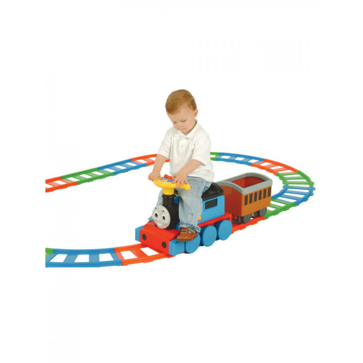 Thomas Amp Friends Train And 22 Piece Track Set