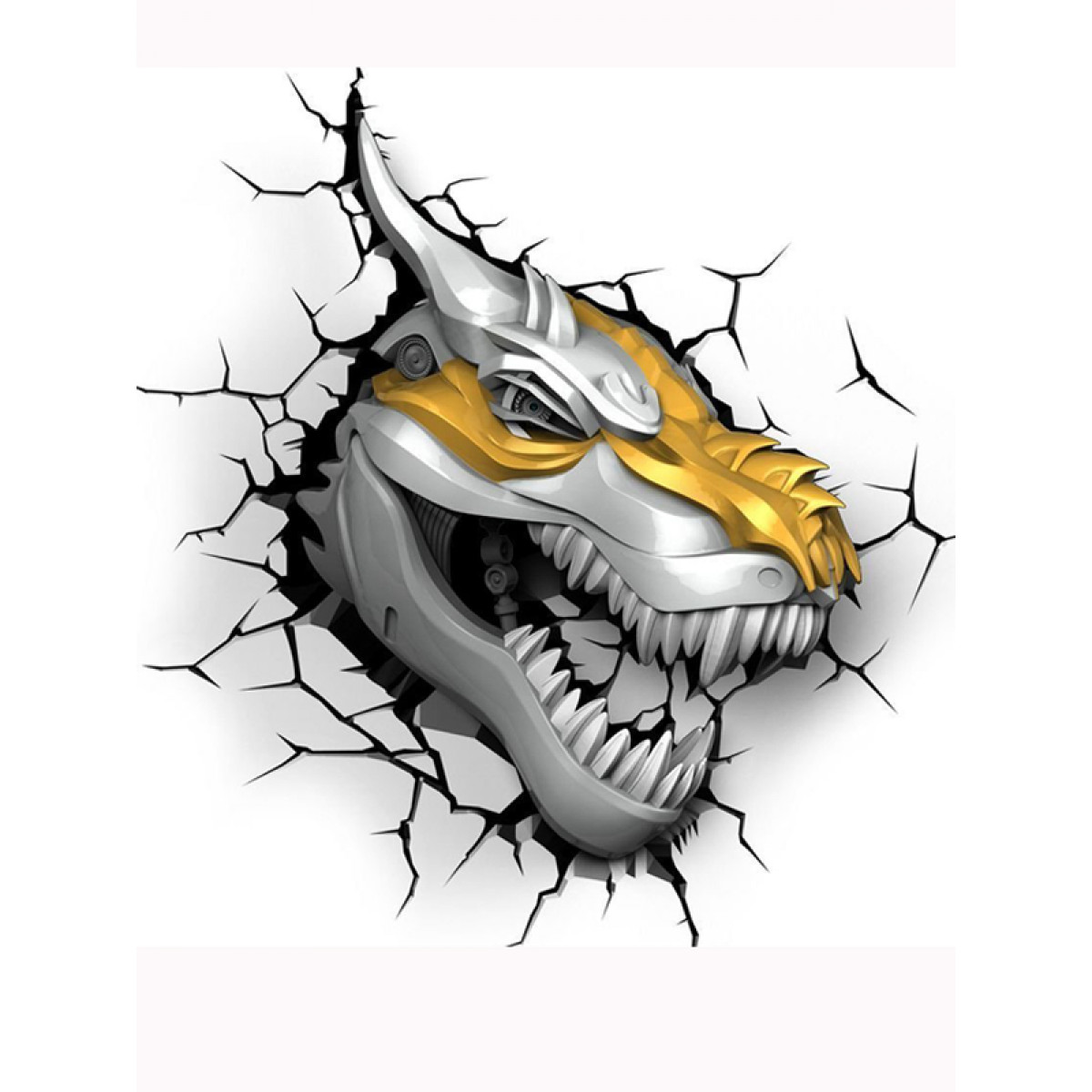 Price Right Home Transformers Grimlock 3d Led Wall Light