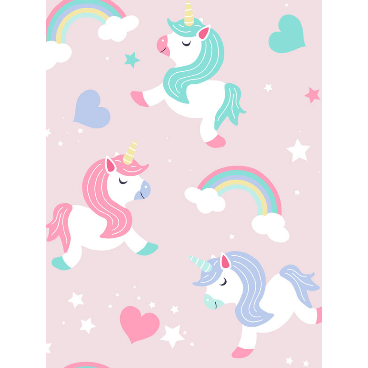I Believe in Unicorns Wallpaper Pink World of Wallpaper A20 CAO 20