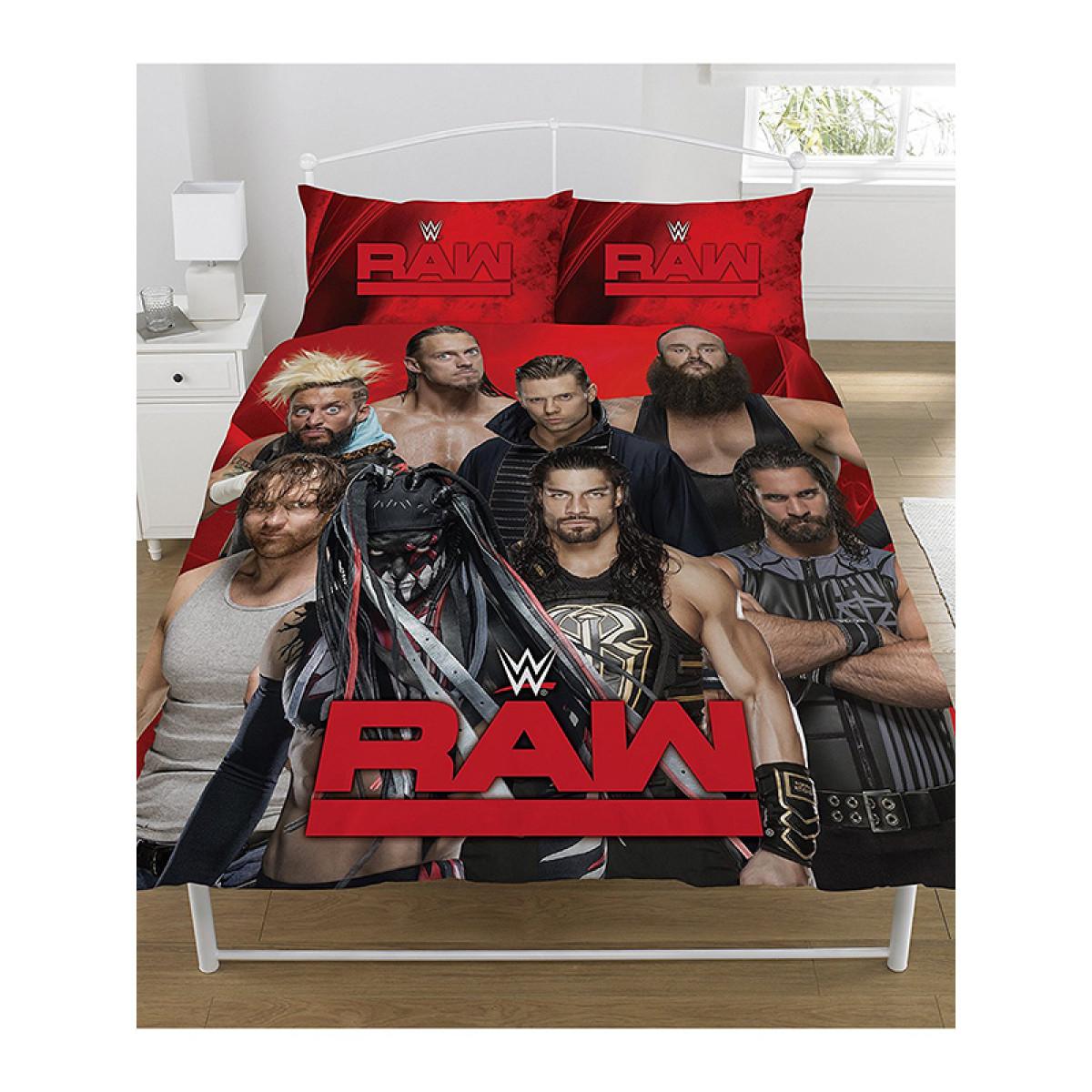 WWE Raw V Smackdown Double Duvet Cover Set
