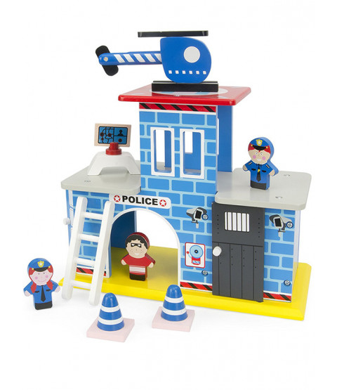 Leomark Wooden Police Station Play Set