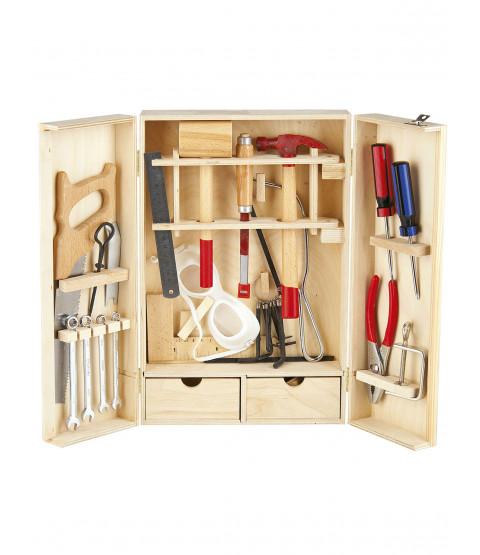 Leomark Wooden Tool Set - 30 pieces