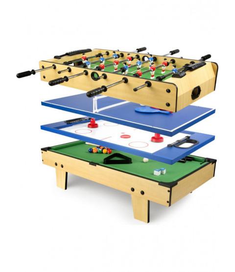 Leomark 4 in 1 Multi Function Games Table