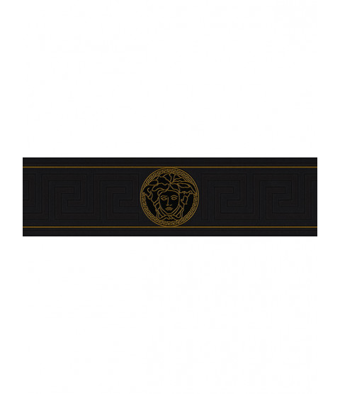 Versace Greek Key Border - Black 935224