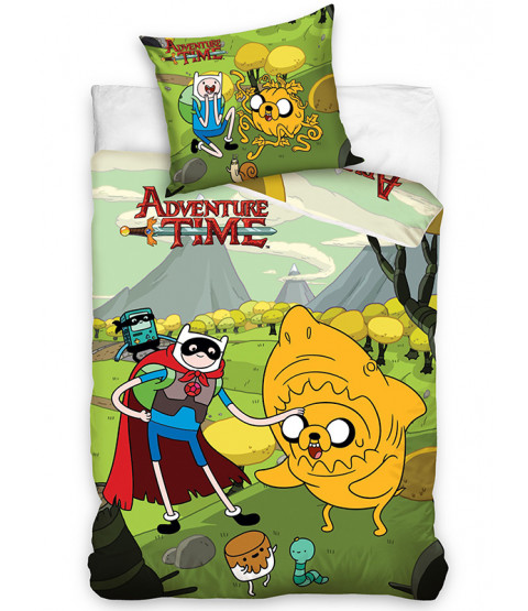 Adventure Time Single Duvet Cover and Pillowcase Set
