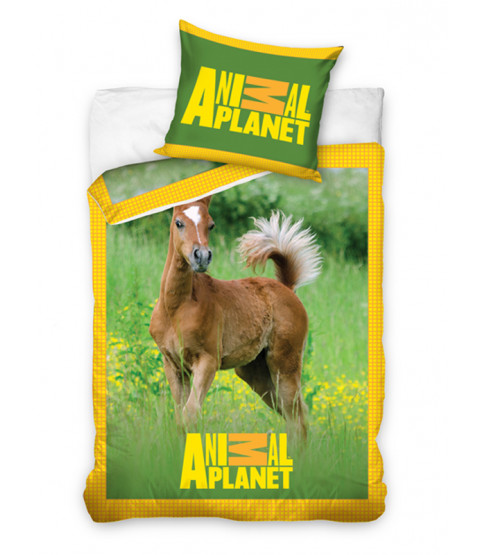 Animal Planet Foal Single Duvet Cover & Pillowcase Set