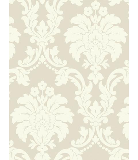 Romeo Damask Wallpaper - Cream - Arthouse 693502