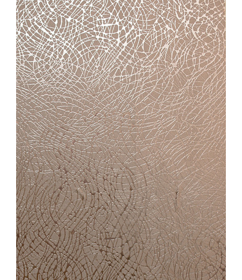 Foil Swirl Wallpaper Rose Gold Arthouse 294101