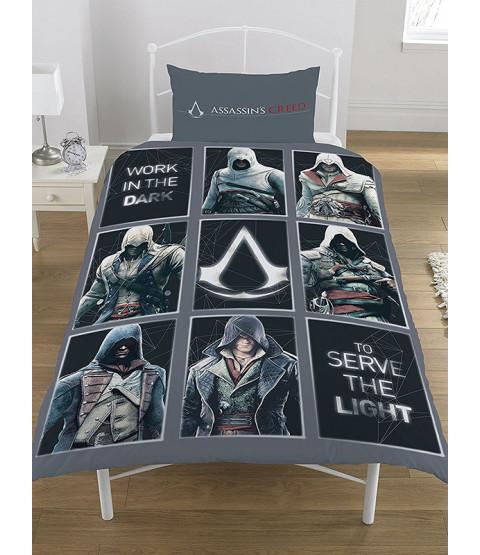 Assassin's Creed Legacy Single Duvet Cover Bedding Set