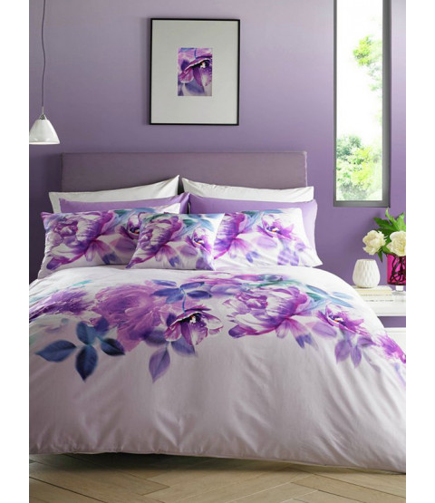 Lipsy London Translucent Bloom Double Duvet Cover Set