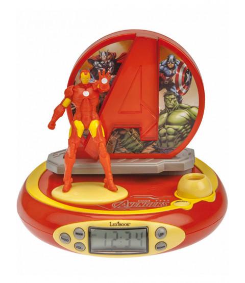 Marvel Avengers Radio Alarm Clock Projector