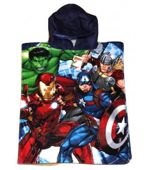 Marvel Avengers Group Hooded Towel Poncho