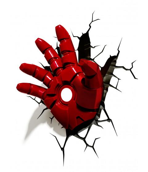 Marvel Iron Man Hand 3D LED Wall Light