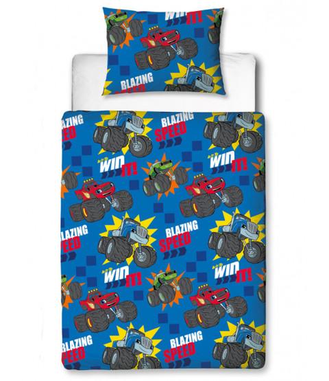Blaze Zoom 4 in 1 Junior Bedding Bundle Set