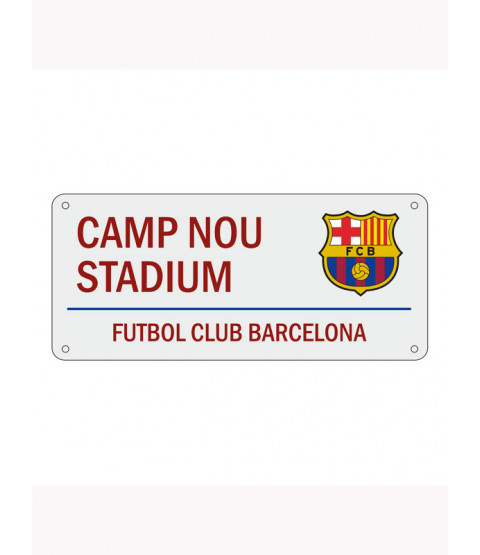FC Barcelona Camp Nou Street Sign