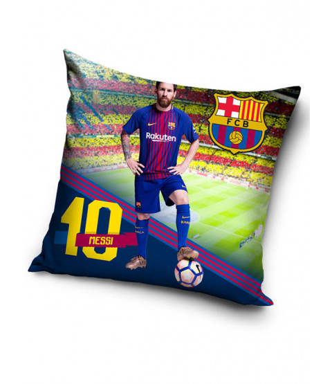 FC Barcelona Messi Stadium Filled Cushion