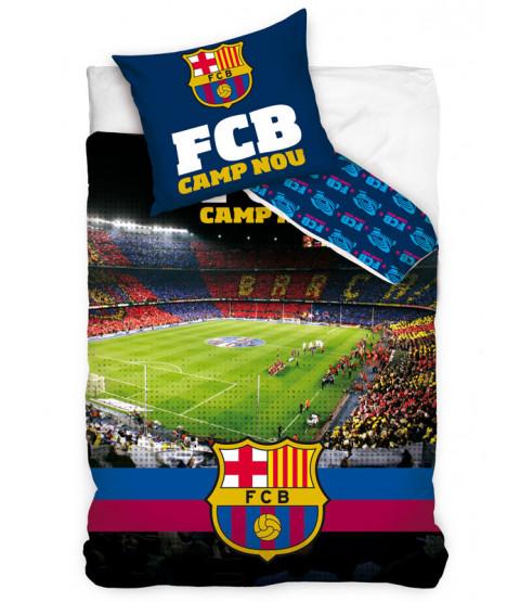 Copripiumino singolo cotone FC Barcelona Camp Nou